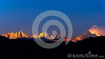 The majestic Kanchenjunga