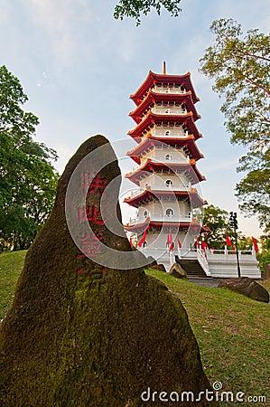 Majestic Oriental pagoda