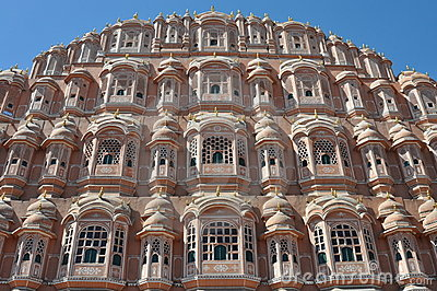Majestic palace of winds, India