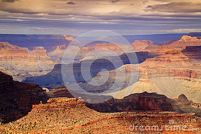 Majestic Panoramic Scenic South Rim Grand Canyon N
