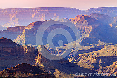 Majestic Sunset South Rim Grand Canyon National Pa