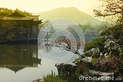 Majestic view of West Lake China