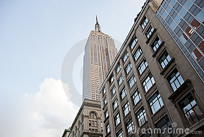 Majesty of the Empire State Building Editorial Stock Photo