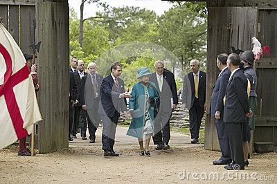 Majesty Queen Elizabeth II Editorial Stock Image