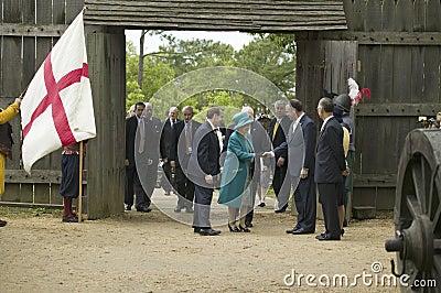 Majesty Queen Elizabeth II Editorial Image