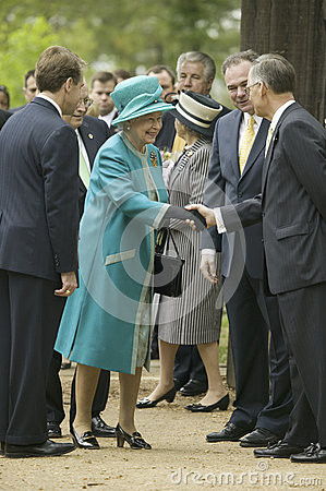 Majesty Queen Elizabeth II Editorial Photography