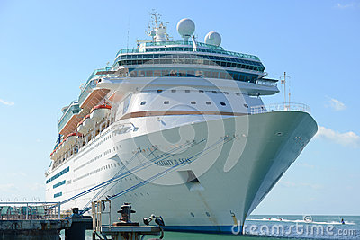 Majesty of the Seas in Key West Editorial Image