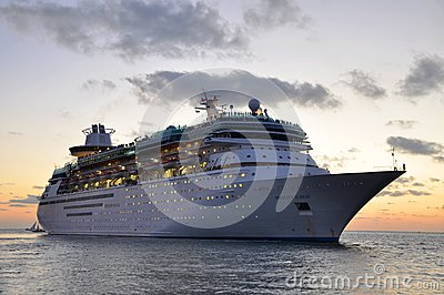 Majesty of the Seas in Key West Editorial Stock Photo