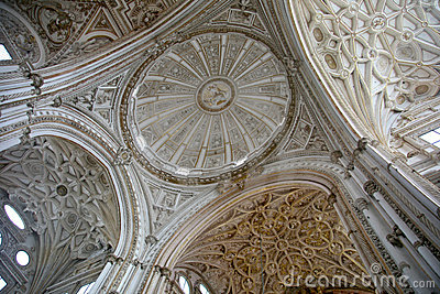 The Major chapel dome at Cordoba Cathedral