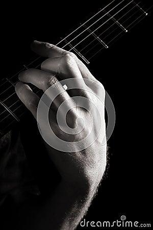 Major chord (A)