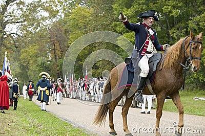 Major General Benjamin Lincoln Editorial Photography