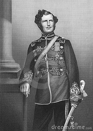 Major-General Sir Christopher Charles Teesdale Editorial Photography