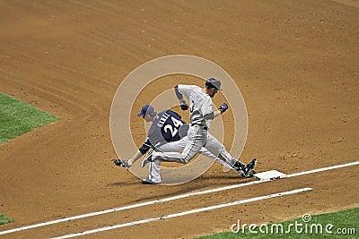 Major League Baseball Action Editorial Stock Photo