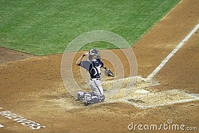 Major League Baseball Action Editorial Photo