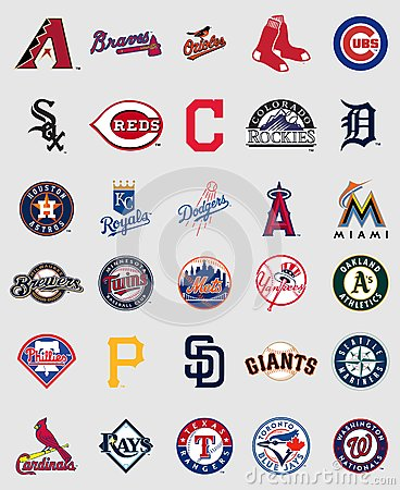 Free Major League Baseball Logos Stock Photos - 78778493