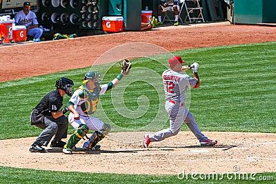 Major League Baseball - Wigginton Check Swing