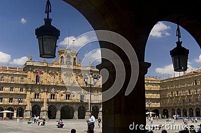 Major Square. Salamanca, Spain