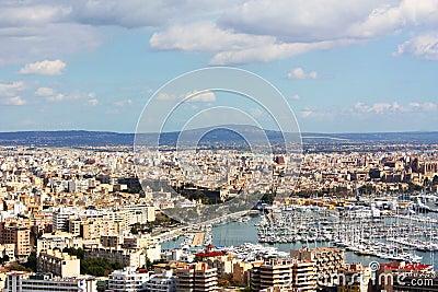 Majorca cityscape