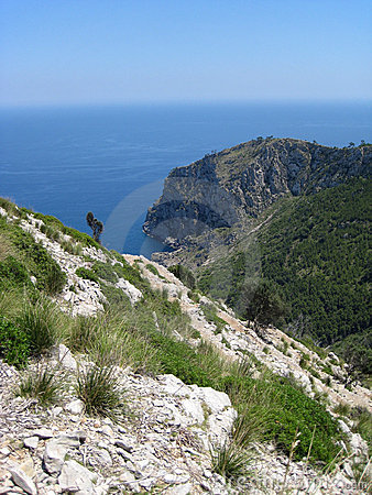 Majorca island coastline