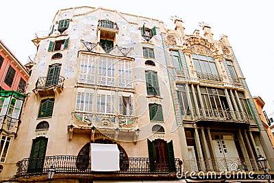 Majorca Marques de Palmer modernist building