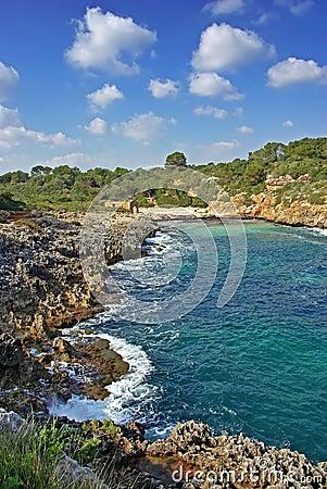 Free Majorca Southern Coast Royalty Free Stock Photos - 22869548