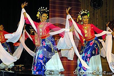 Mak yong dance Editorial Photography