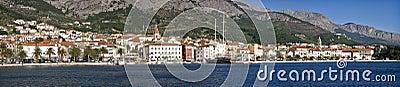 Makarska city in Croatia