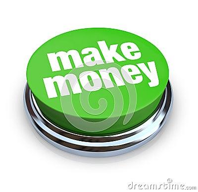 Make Money Button - Green