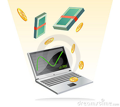 Make money with on line trading