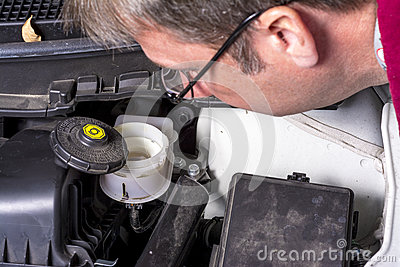 Make sure that your brake fluid is full