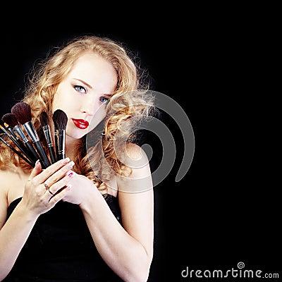 Free Make-up Artist Stock Image - 19174821