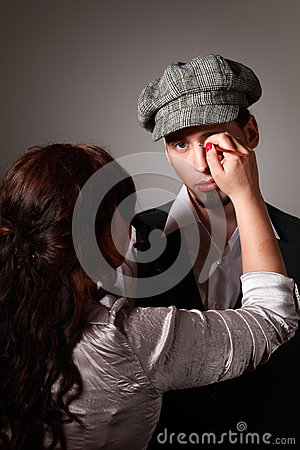 Free Make-up Artist Royalty Free Stock Photography - 70715417