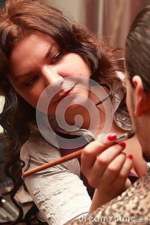 Free Make-up Artist Stock Image - 70715421