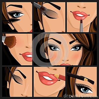 Free Make-up Beauty Woman Stock Photo - 42921230