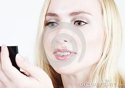 Make-up: Blond girl 15