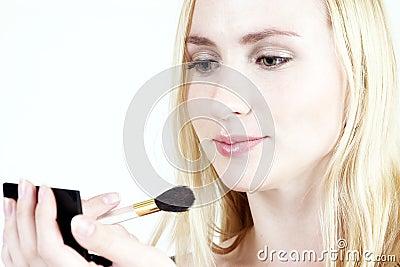 Make-up: Blond girl 16