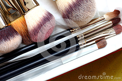 Make-up brushes - beauty treatment
