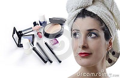 Make-up en schoonheid