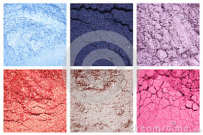 Make-up eye shadows