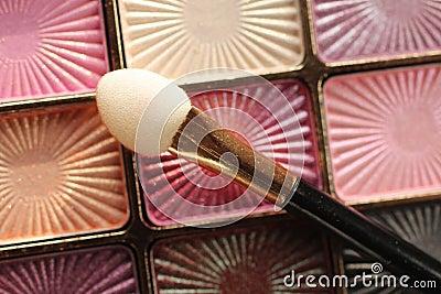 Make up eyeshadow