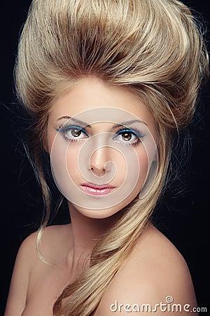 Make-up and hairdo
