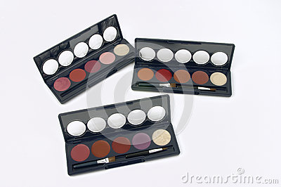 Make-up Palette Stock Photo - Image: 25056580