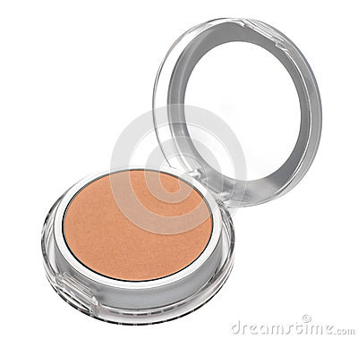 Make-up powder in box
