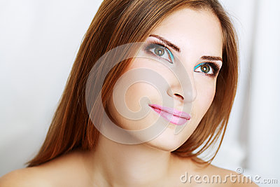 Make-up woman
