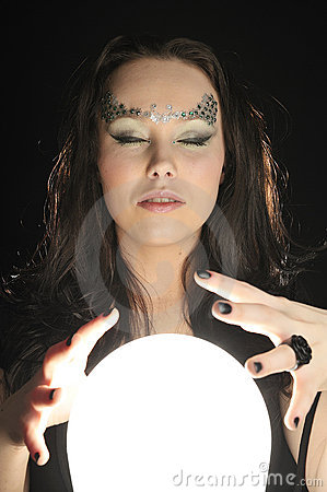 Make wishing with a Magic crystal ball