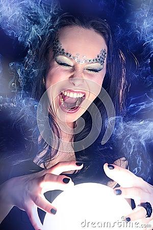 Make wishing with a Magic crystal ball