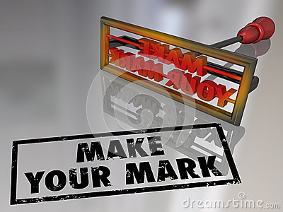 Make Your Mark Branding Iron Lasting Impression Royalty