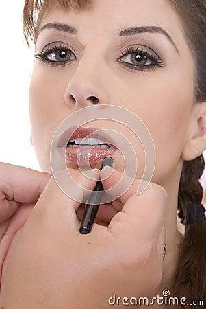 Makeup Artist & the Model