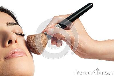 Makeup and Blush