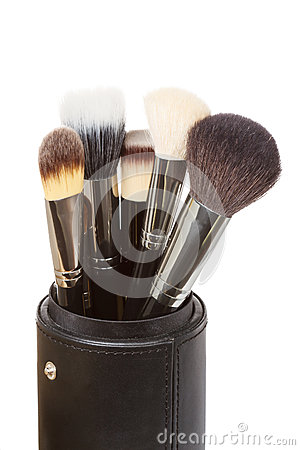 Free Makeup Brushes Royalty Free Stock Photography - 50082907